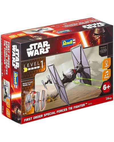 Сглобяем модел Revell - First order Special Forces TIE Fighter - 2
