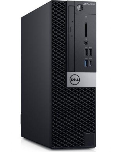 Настолен компютър Dell OptiPlex - 3060SFF, черен - 1