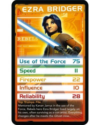 Игра с карти Top Trumps - Star Wars Rebels - 2