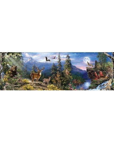Панорамен пъзел Master Pieces от 1000 части - Животни - 2