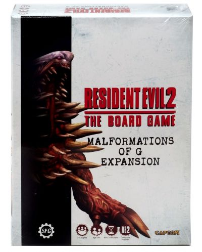 Разширение за Resident Evil 2 The Board Game - Malformations of G - 1