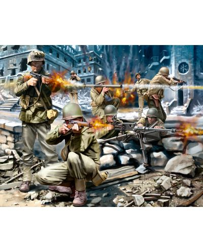 Фигури Revell - American Infantry WWII (02599) - 2