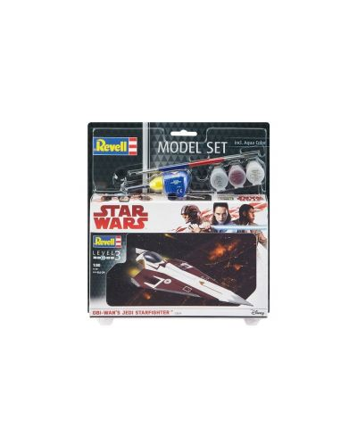 Сглобяем модел Revell - Obi-Wan's Jedi Starfighter - 2