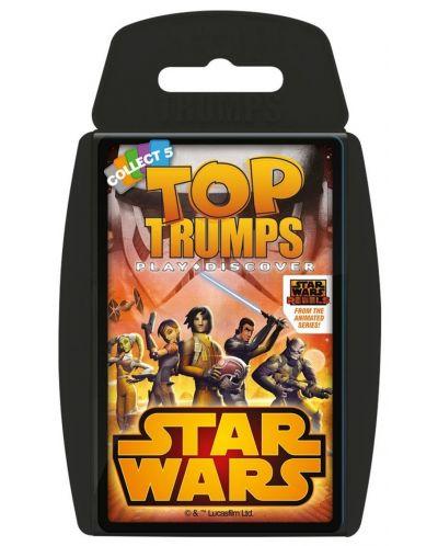 Игра с карти Top Trumps - Star Wars Rebels - 1