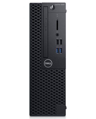Настолен компютър Dell OptiPlex - 3060SFF, TPM, черен - 3