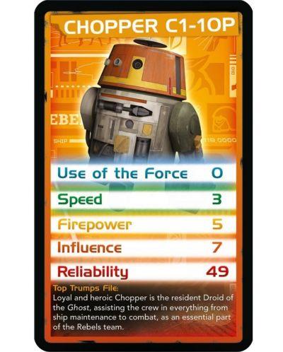 Игра с карти Top Trumps - Star Wars Rebels - 3