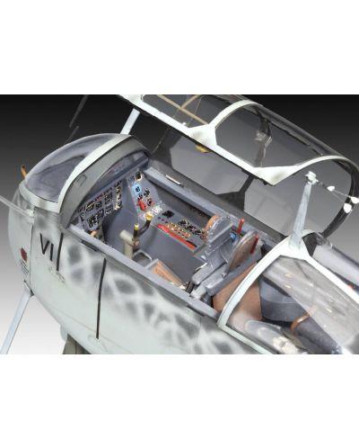 Сглобяем модел на военен самолет Revell Heinkel - He219 A-7/A-5/A-2 late UHU (04666) - 3