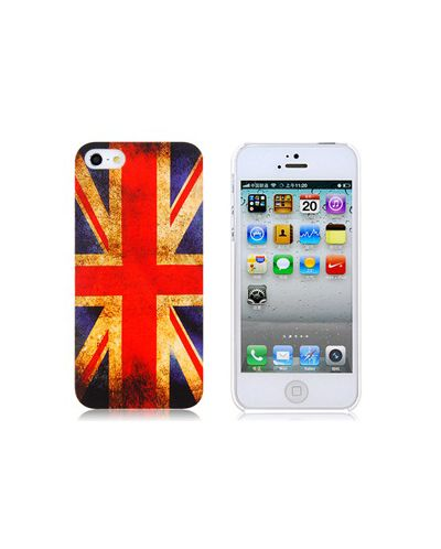 Retro Style Faceplate UK за iPhone 5 - 1