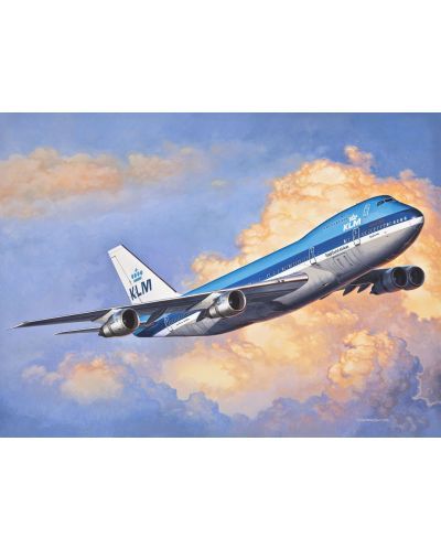 Сглобяем модел на самолет Revell - Boeing 747-200 (03999) - 2
