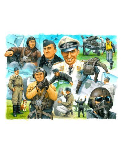 Фигури Revell - Pilots & ground crew Germain Airforce WWII (02400) - 2