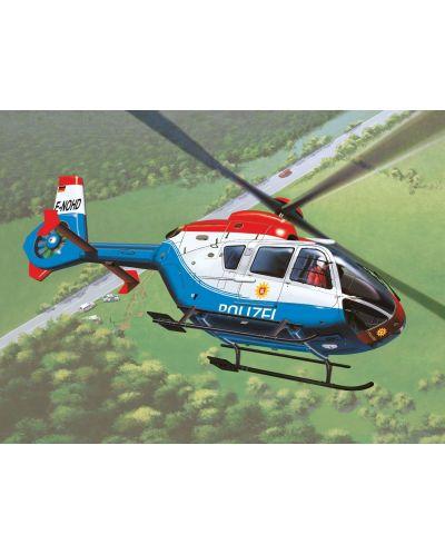 Сглобяем модел на полицейски хеликоптер Revell Easykit - EC-135 Polizei (06635) - 2
