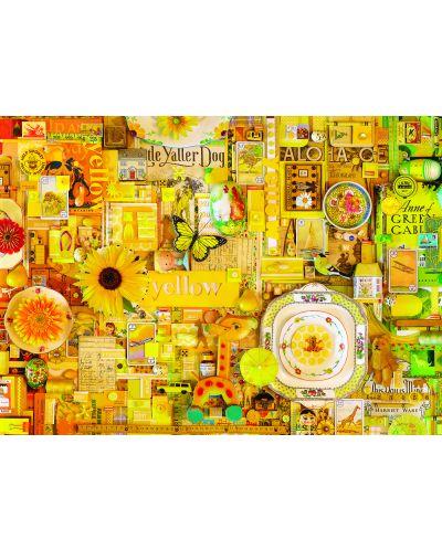 Пъзел Cobble Hill от 1000 части - Жълто, Шели Дейвис - 2
