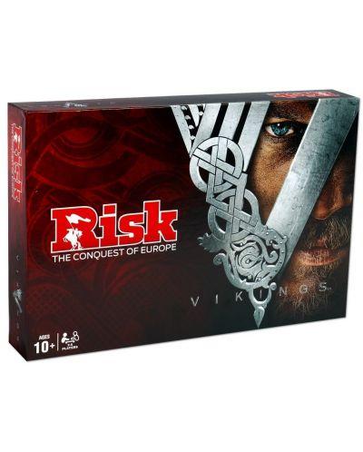 Настолна игра Risk - Vikings, стратегическа - 1