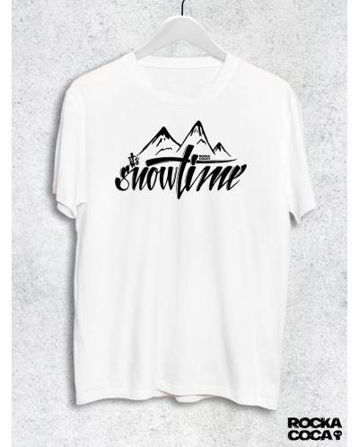 Тениска RockaCoca Snow, бяла, размер S - 1