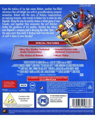 Robots (Blu-Ray) - 2