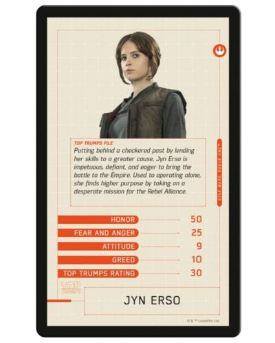 Игра с карти Top Trumps - Star Wars Rogue One - 3