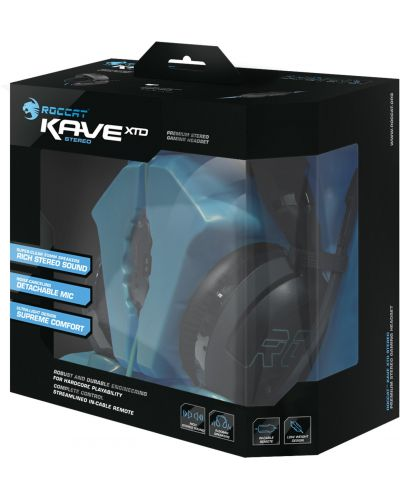 Гейминг слушалки ROCCAT Kave XTD Premium Stereo - 3