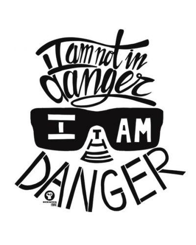 Тениска RockaCoca The Danger, бяла, размер S - 2