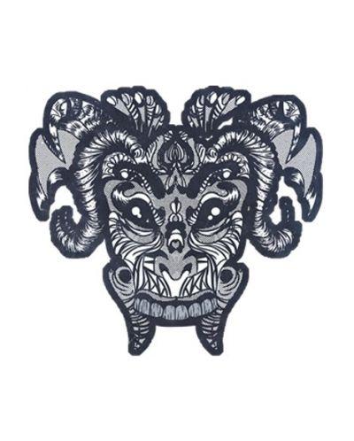 Тениска RockaCoca Mask, бяла, размер S - 1