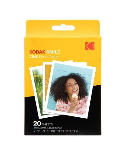 Фотохартия Kodak - Zink 3x4, 20 pack - 1