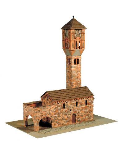 Сглобяем модел Domus Kits - Романика 15, Църква Sta Maria Magdalena, Макет с истински тухли - 1