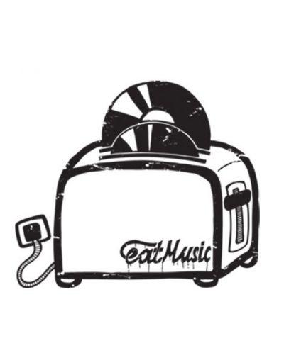 Тениска RockaCoca Toaster, бяла, размер M - 2