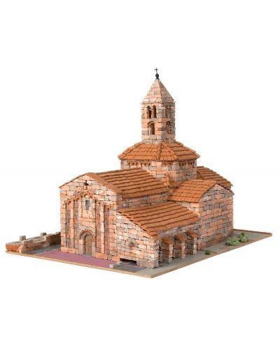 Сглобяем модел Domus Kits - Романика 7, Църква Sta. Maria d´Egara, Макет с истински тухли - 1