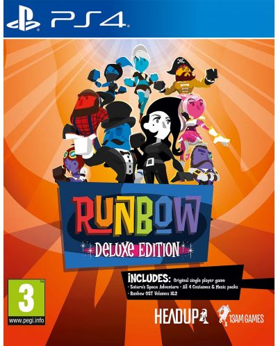 Runbow Deluxe Edition (PS4) - 1
