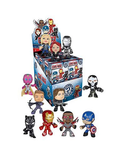 Мини Фигура Funko: Cap America 3: Civil War - Mystery Minis Blind Box - 1
