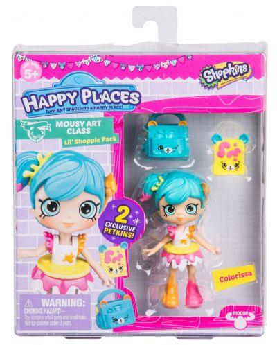 Фигурка Shopkins Happy Places - Colorissa, Серия 3 - 1