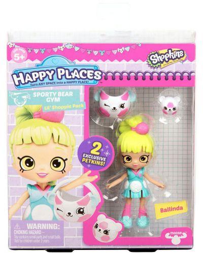 Фигурка Shopkins Happy Places - Ballinda, Серия 3 - 1