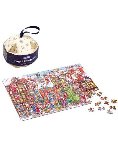 Пъзел-играчка за елха Gibsons от 250 части - Дядо Коледа, Арманд Фостър - 2