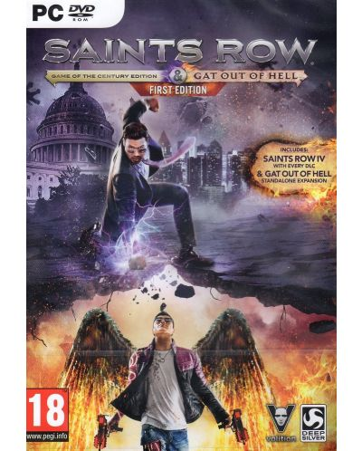 Saints Row IV Re-Elected & Gat Out Of Hell (PC) - 1