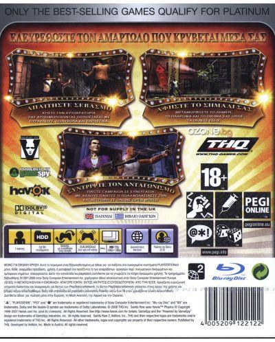Saint's Row 2 - Platinum (PS3) - 2
