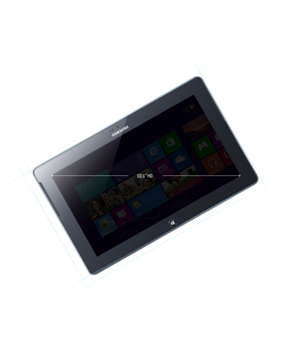 "Samsung Tablet GT-P8510 ATIV TAB 32GB, 10.1"", Windows RT - 3"