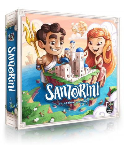 Настолна игра Santorini - 1