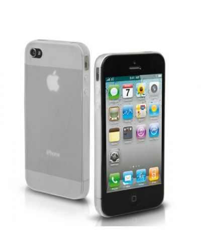 SBS Ultraslim Case за iPhone 5 -  прозрачен-мат - 1