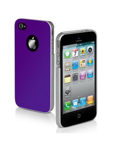SBS Satiny Case за iPhone 5 -  лилав - 1