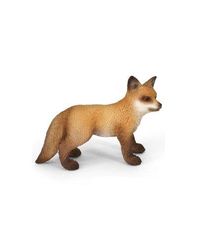 Фигурка Schleich от серията Дивия живот - Животните в Европа: Червена лисица - бебе - 1