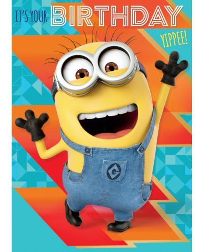 Музикална картичка Danilo - Despicable Me 3: Minion It's Your Birthday - 1