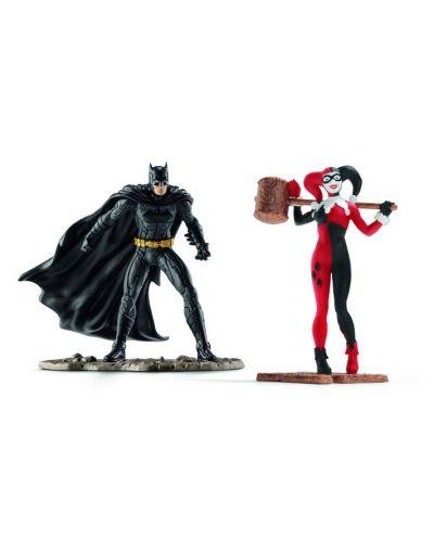 Комплект фигурки Schleich - Batman VS Harley Quinn - 1
