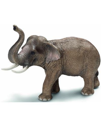 Фигурка Schleich от серията Дивия живот - Азия и Австралия: Индийски слон - мъжки - 1