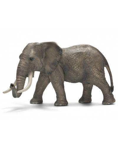 Фигурка Schleich от серията Дивия живот - Африка: Африкански слон - мъжки - 1