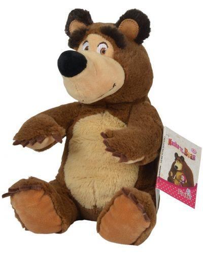 Плюшена играчка Simba Toys Маша и мечока -  Седящ мечок, 20 cm - 2