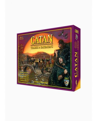 Разширение за настолна игра Settlers of Catan Board Game - Traders & Barbarians Expansion - 1