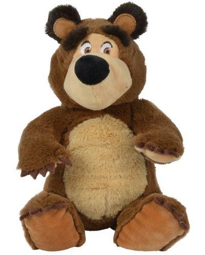 Плюшена играчка Simba Toys Маша и мечока -  Седящ мечок, 20 cm - 1