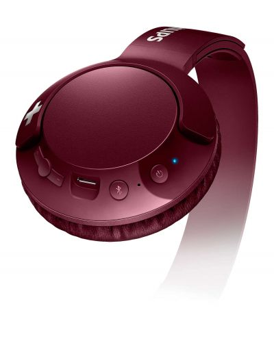Слушалки Philips SHB3075RD - червени - 2