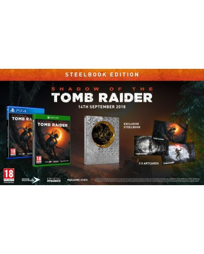 Shadow Of The Tomb Raider Steelbook Edition (PS4) - 5