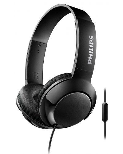 Слушалки Philips SHL4405BK - черни - 1