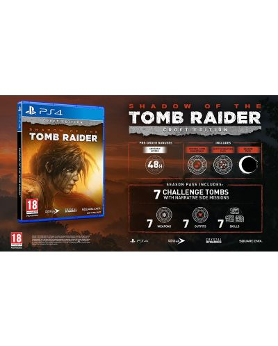 Shadow Of The Tomb Raider Croft Edition (PS4) - 5